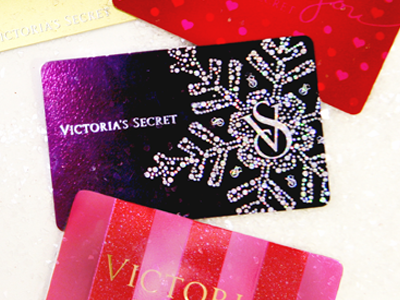2011 Victoria's Secret Holiday Giftcards