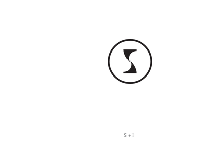 SI monogram logo design