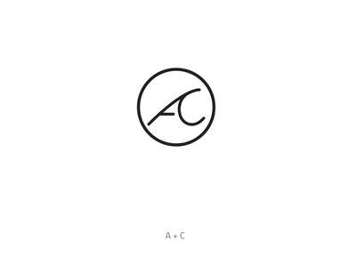 AC monogram logo