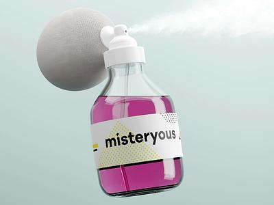 🧪 Misteryous blendercycles blender3d blender 3drender mist mystery bottle 3d perfume brand