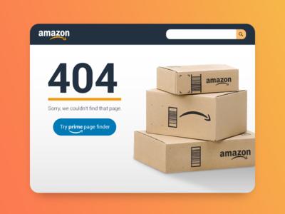 ⚠️ Amazon 404