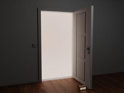 🕰 Clock Blocker™ –  The traditional Door Stopper, reinvented!