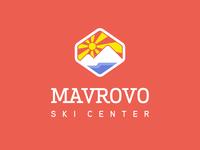 ⛷️ Mavrovo Ski Center – Ski mountain logo