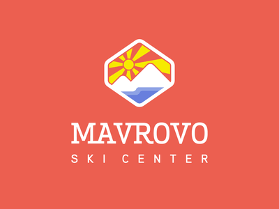 ⛷️ Mavrovo Ski Center – Ski mountain logo dailylogodesign dailylogo logoinspiration logodesign badge ski mountain ski center ski mavrovo dailylogochallenge logotyp logotype logo