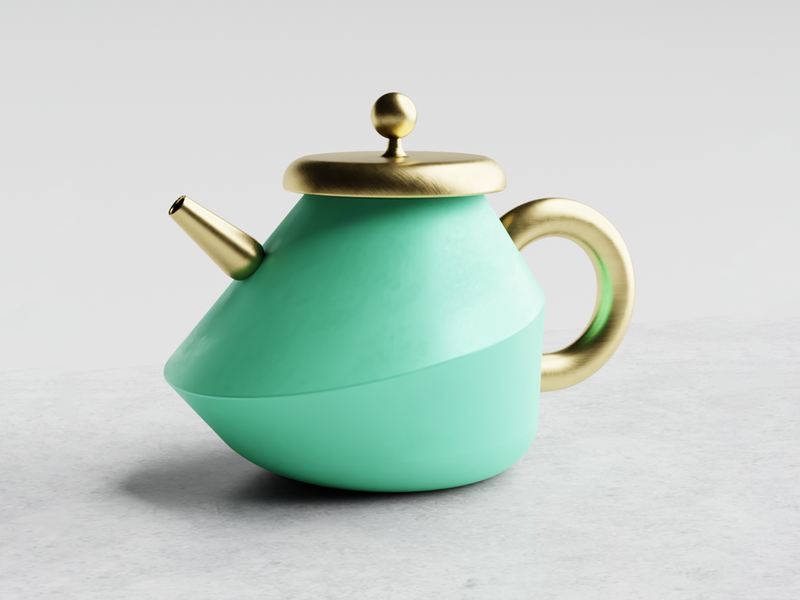 🍵 Miss Potts 3d product concept design concept blender 3d renderweekly kettle productdesigner productdesign 3drender blender3d industrialdesign teapot industrial product design industrial design