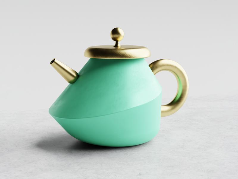 🍵 Miss Potts 3d product concept design concept blender 3d renderweekly kettle productdesigner productdesign 3drender blender3d industrialdesign teapot industrial product design industrial design