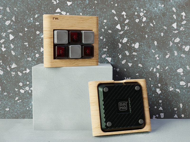 ⌨️RWxRW M6-C Keyboard cgi b3d blender3d productrender 3drender mechanicalkeyboard keyboard productdesign industrialdesign ramaworks renderweekly