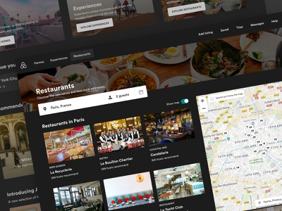 Airbnb Dark website icon picture logo web ux colors mockup atomic illustration flat shadow productdesign material interface creative color ui sketch design