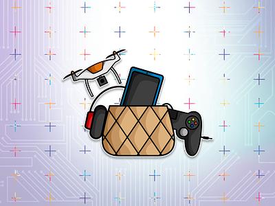 Fun Tech logo logodesigner mohammadfaizandesign mohammadfaizandeisgnpage faizanscreativelab logodesigns logo illustration design minimalism logodesignersclub logodesignchallenge logodesign graphicdesign