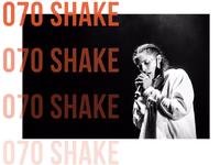 070 Shake Bold Text