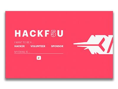 HackF5U hack coder development fsu hackathon tech mlh hacking hackfsu design 2017