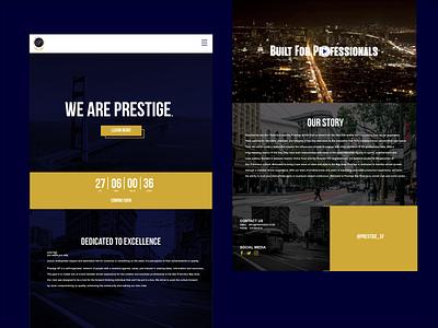 Prestige San Francisco Homepage yourmobilegeek branding website creative san francisco ux ui design