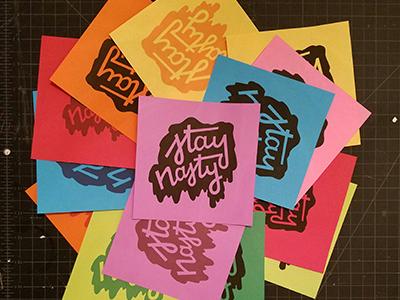 stay nasty // prints