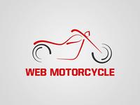 Web Motorcycle Logo