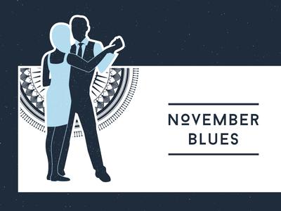 November blues flyer