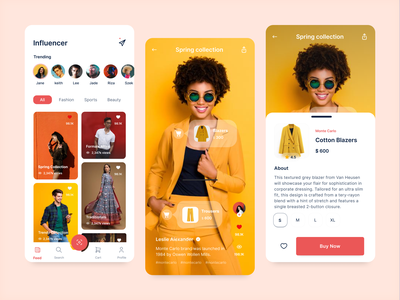 Social Commerce Application phone minimal userexperience social shopping socialcommerce ecommerce productdesign mobile icon f22labs design branding