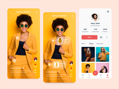 Social Commerce application f22labs social selfbranding socialcommerce mobile productdesign ui ux uidesign uxdesign figma