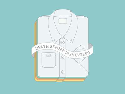 Meat+Bones – Death Before Disheveled illustration vector flat