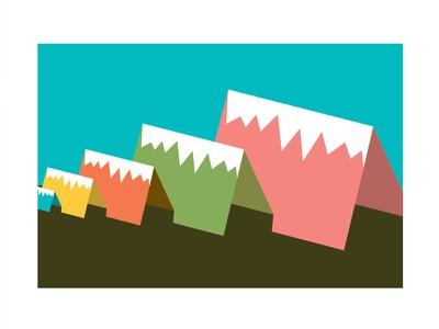 File World – Campground illustration vector flat