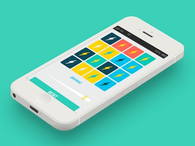 Lightening round ios interface game
