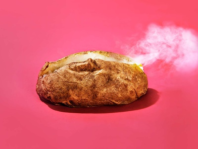Hot Potato Mortgages photo conceptual