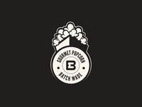 Popcorn Badge
