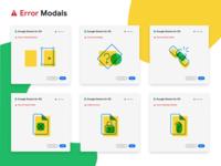 Google Sheets for Adobe XD - Errors