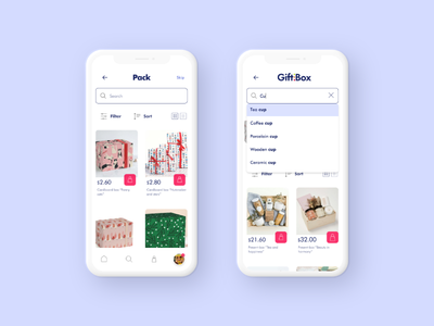 Mobile App Catalog and Search minimal ui catalog design catalog mobile app app design mobile