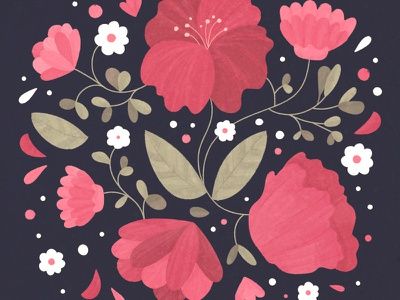 Bloom wedding leaves illustration plants bloom flowers flower