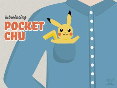 Pocket Chu illustration advertising