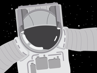 Astronaut - Illustration