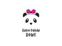 Baby Panda Bows Logo