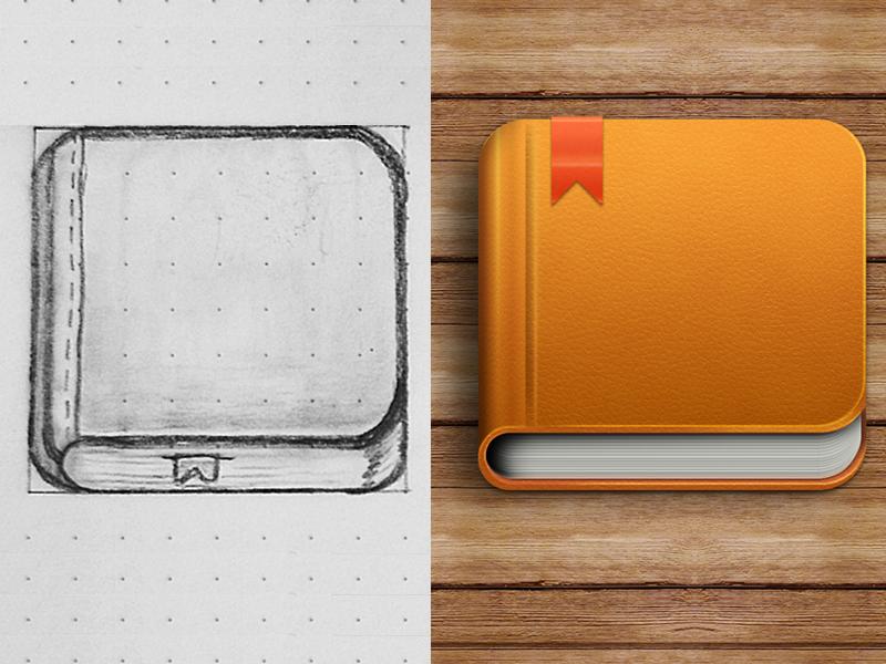 Book Icon icon book sketch graphic design illustration