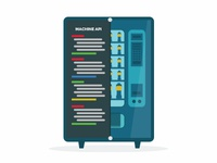 Vending Machine API Illustration