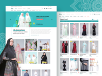 Ranti — Muslim eCommerce website