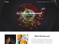 TheSimple - WP Theme - Restaurant Template