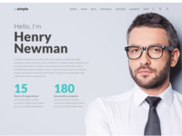 TheSimple - WP Theme - Freelance Template