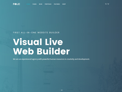 Visual Live Web Builder