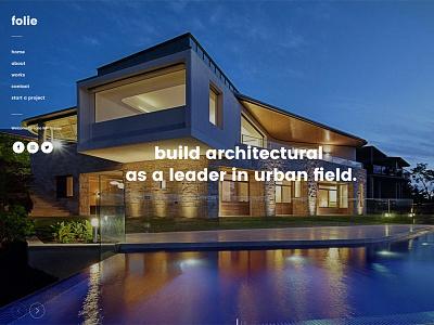 Architecture WordPress Theme - WordPress Website Builder ui web design web theme template wordpress architecture