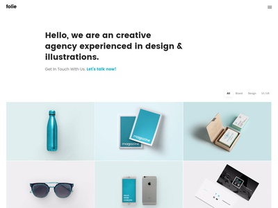 Portfolio - Folie - The WordPress Website Builder