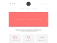 Creative Minimal - Folie - The WordPress Website Builder