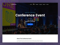 Folie WordPress Theme - Conference Demo