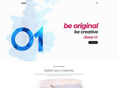 Onero   Creative Portfolio Theme for Professionals creative freelancer designer themes wordpress themeforest