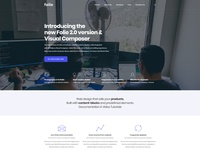 Folie | The WordPress Website Builder