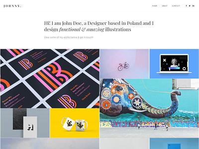 Folie - Portfolio Metro Demo website blog photography agency themeforest creative web design wordpress theme wordpress