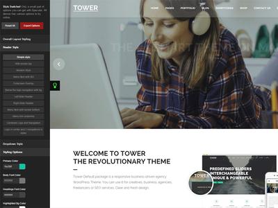 Tower | Responsive Business-Driven WordPress Theme
