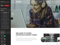 Tower | Responsive Business-Driven WordPress Theme