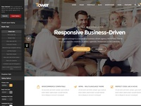Tower - Responsive Business WordPress Theme