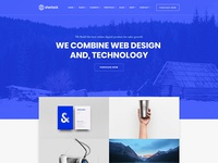 Sherlock - Creative WordPress Theme