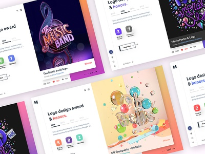 Logo Design Awards interface user ui ios color mobile kaptaan design creative clean app